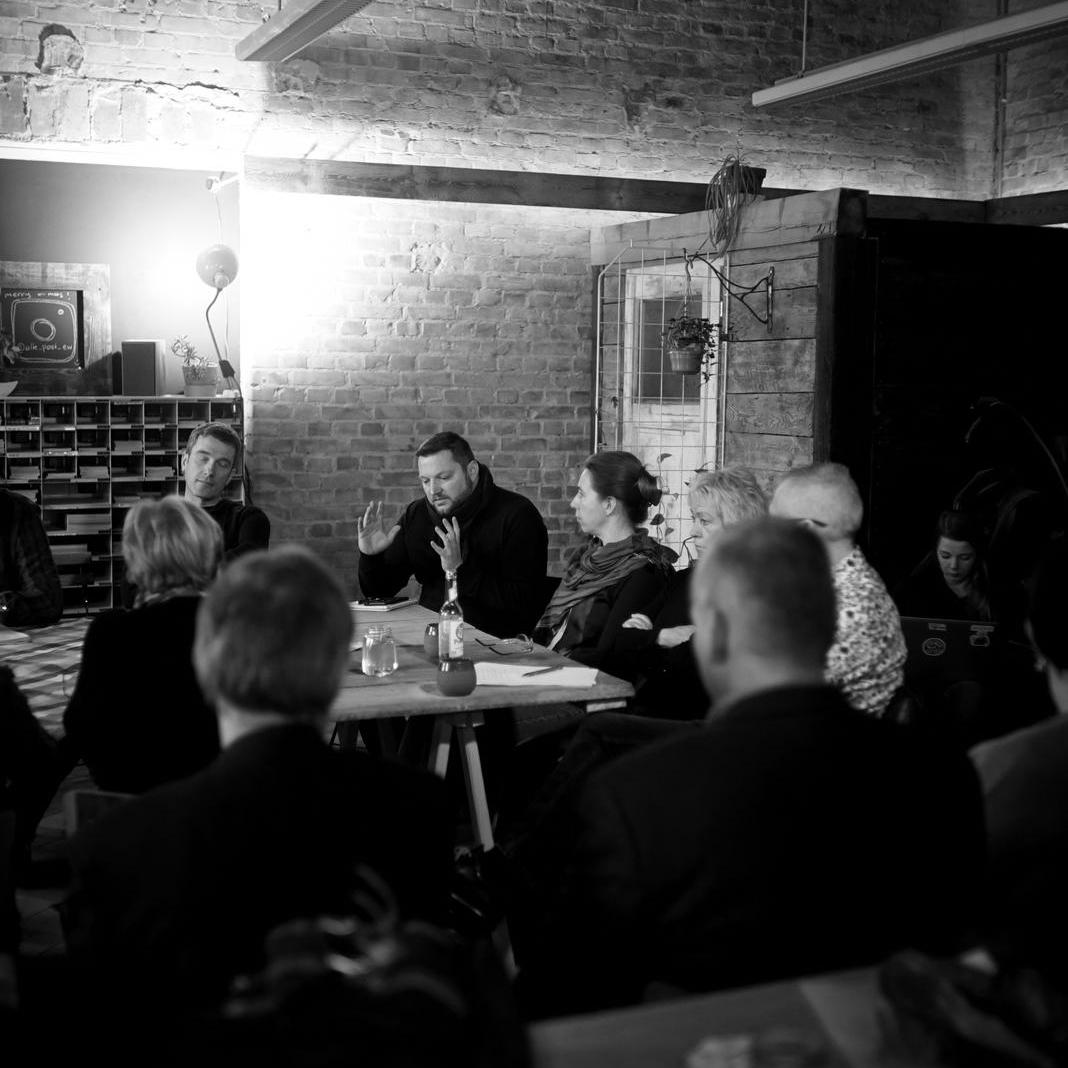 Diskussion zur Bebebauung Friedrich-Ebert-Straße Süd. Foto: Christian Raue
